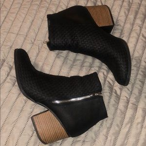 Becky side zip ankle boots